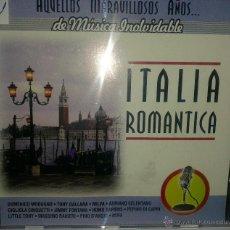 CDs de Música: CD MUSICA ROMANTICA ITALIANA DE LOS AÑOS 60-70. Lote 40008422