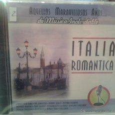 CDs de Música: CD MUSICA ROMANTICA ITALIANA DE ÑOS 60-70. Lote 40008424