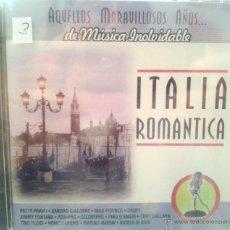 CDs de Música: CD MUSICA ROMANTICA ITALIANA DE LOS AÑOS 60-70. Lote 40008425