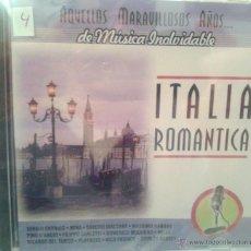 CDs de Música: CD MUSICA ROMANTICA ITALIANA DE LOS AÑOS 60-70. Lote 40008428