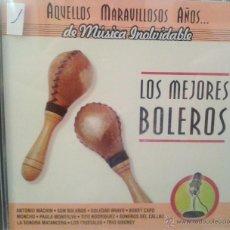 CDs de Música: CD MUSICA DE LOS MEJORES BOLEROS DE LOS AÑOS 60 - 70. Lote 40008440