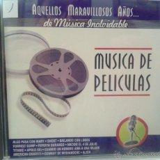 CDs de Música: CD DE MUSICA DE PELICULAS DE TODOS LOS TIEMPOS. Lote 40008448