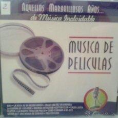 CDs de Música: CD DE MUSICA DE PELICULAS DE TODOS LOS TIEMPOS. Lote 40008450