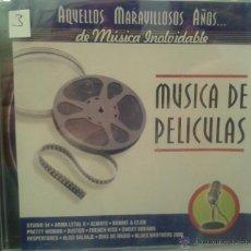 CDs de Música: CD DE MUSICA DE PELICULAS DE TODOS LOS TIEMPOS. Lote 40008451