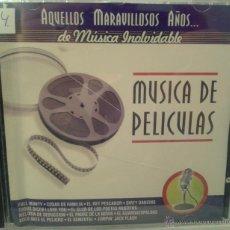 CDs de Música: CD DE MUSICA DE PELICULAS DE TODOS LOS TIEMPOS. Lote 40008452