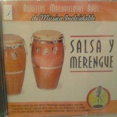 CDs de Música: CD DE MUSICA SALSA Y MERENGUE. Lote 40011158