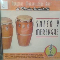CDs de Música: CD DE MUSICA SALSA Y MERENGUE. Lote 40011177