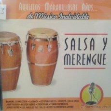 CDs de Música: CD DE MUSICA SALSA Y MERENGUE. Lote 40011192