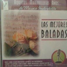 CDs de Música: CD DE MUSICA DE LAS MEJORES BALADAS DE LOS AÑOS 60-70-80. Lote 40014466
