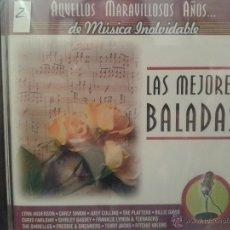 CDs de Música: CD DE MUSICA DE LAS MEJORES BALADAS DE LOS AÑOS 60-70-80. Lote 40014485