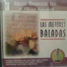 CDs de Música: CD DE MUSICA DE LAS MEJORES BALADAS DE LOS AÑOS 60-70-80. Lote 40014506