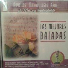 CDs de Música: CD DE MUSICA DE LAS MEJORES BALADAS DE LOS AÑOS 60-70-80-. Lote 40014526