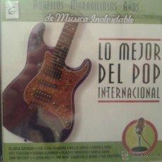 CDs de Música: CD DE MUSICA DEL MEJOR POP INTERNACIONAL DE LOS AÑOS 60-70-80-. Lote 40014919