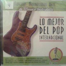 CDs de Música: CD DE MUSICA DEL MEJOR POP INTERNACIONAL DE LOS AÑOS 60-70-80-. Lote 40014978