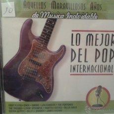 CDs de Música: CD DE MUSICA DEL MEJOR POP INTERNACIONAL DE LOS AÑOS 60-70-80-. Lote 40014994