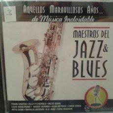 CDs de Música: CD DE MUSICA DE LOS MEJORES MAESTROS DEL JAZZ & BLUES. Lote 40015076