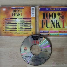 CDs de Música: 16 FUNK HITS 100% FUNK 1 CD JIMMY BO HORNE FAT LARRY´S BAND INSTANT FUNK B.B. & Q BAND JAMES BROWN. Lote 40015603