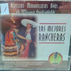CDs de Música: CD DE MUSICA CON LAS MEJORES RANCHERAS DE LOS AÑOS 60-70-80. Lote 40016489