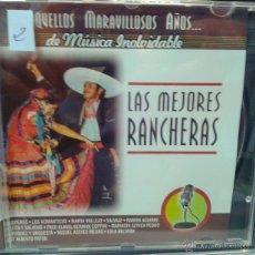 CDs de Música: CD DE MUSICA CON LAS MEJORES RANCHERAS DE LOS AÑOS 60-70-80. Lote 40016515