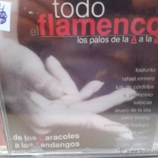 CDs de Música: CD DE LA MUSICA FLAMENCA. DE LOS CARACOLES A LOS FANDANGOS. Lote 40016752