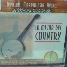 CDs de Música: CD DE LA MEJOR MUSICA COUNTRY. Lote 40016893