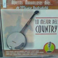 CDs de Música: CD DE LA MEJOR MUSICA DEL COUNTRY. Lote 40017256