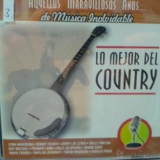 CDs de Música: CD DE LA MEJOR MUSICA DEL COUNTRY. Lote 40017285