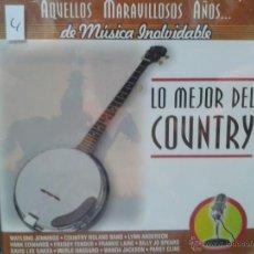 CDs de Música: CD DE LA MEJOR MUSICA DEL COUNTRY. Lote 40017308