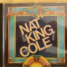 CDs de Música: CD NAT KING COLE. LOS 60 UNA GRAN DECADA PARA RECORDAR. 15 TEMAS. . Lote 40018296