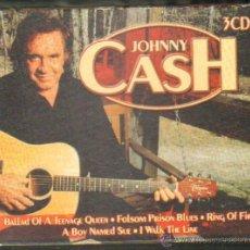 CDs de Música: JOHNNY CASH. 3 CD CD-DOBLE-084. Lote 40084769