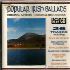 CDs de Música: CD POPULAR IRISH BALLADS ( 26 BALADAS POPULARES IRLANDESAS ). Lote 40091595