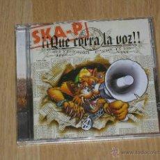 CDs de Música: SKA-P QUE CORRA LA VOZ CD ALBUM COMPLETO 12 TEMAS. Lote 40096929