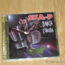 CDs de Música: SKA-P PLANETA ESKORIA CD ALBUM COMPLETO 14 TEMAS. Lote 40096953