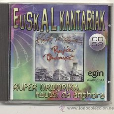 CDs de Música - CD / RUPER ORDORIKA / HAUTSI ANPHORA - 40112968
