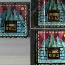 CDs de Música: 3 CD´S LOS GRANDES MUSICALES : CANTA JULIE ANDREWS, ANDY WILLIAMS, TOPOL, HOWARD KEEL, EYDIE GORME. Lote 40145861