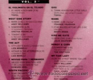 CDs de Música: 3 CD´S LOS GRANDES MUSICALES : CANTA JULIE ANDREWS, ANDY WILLIAMS, TOPOL, HOWARD KEEL, EYDIE GORME - Foto 4 - 40145861