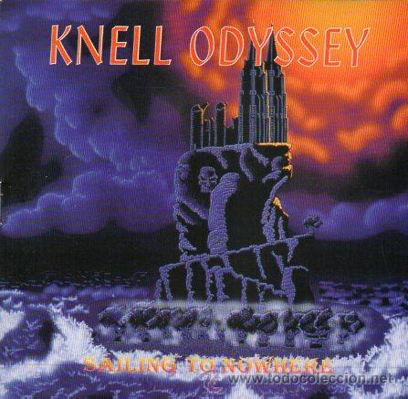 KNELL ODYSSEY - SAILING TO NOWHERE - CD 1997 - GOLDTRACK RECORDS - HEAVY METAL (Música - CD's Heavy Metal)