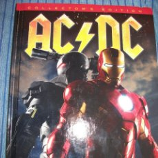 CDs de Música: CD + DVD + COMIC + POSTER + STICKERS - ACDC - AC DC - IRON MAN 2 - OST - BSO -. Lote 221123877