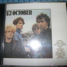 CDs de Música: CD U2 – OCTOBER – PRECINTADO – BONO. Lote 40161853