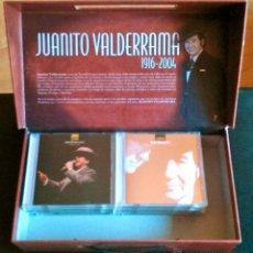 CDs de Música: JUANITO VALDERRAMA - CAJA MALETÍN CON 9 CD'S + 5 DVD'S - KOMPETENCIA RECORDS 2007 - A ESTRENAR. Lote 40175901