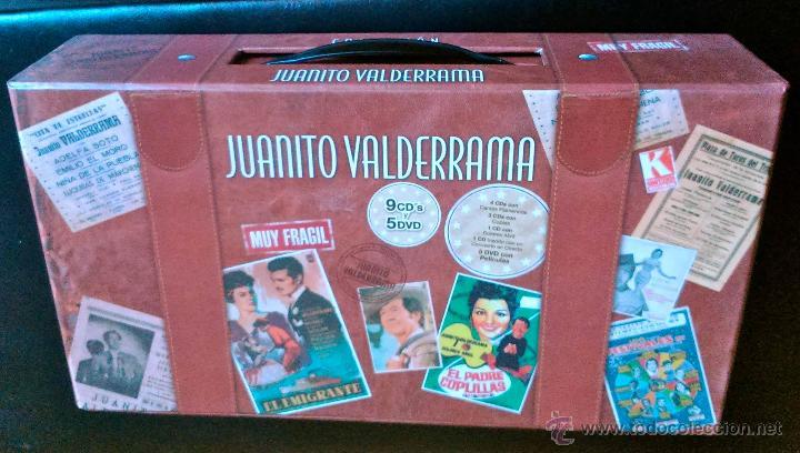 CDs de Música: JUANITO VALDERRAMA - CAJA MALETÍN CON 9 CDS + 5 DVDS - KOMPETENCIA RECORDS 2007 - A ESTRENAR - Foto 2 - 40175901