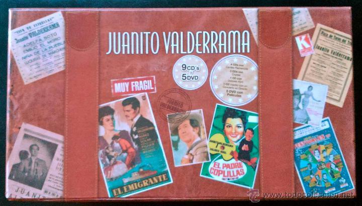 CDs de Música: JUANITO VALDERRAMA - CAJA MALETÍN CON 9 CDS + 5 DVDS - KOMPETENCIA RECORDS 2007 - A ESTRENAR - Foto 3 - 40175901
