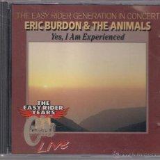 CDs de Música: ERIC BURDON AND THE ANIMALS - YES. I AM EXPERIENCED - CD NOTA BLU MÚSICA 1993 - NO OFICIAL. Lote 40176048