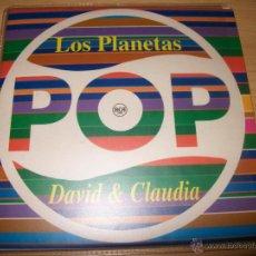 CDs de Música: CD SINGLE LOS PLANETAS - DAVID & CLAUDIA RADIO EDIT - POP BMG RCA 1996 - PROMO 40 PRINCIPALES - SUPE. Lote 40182898