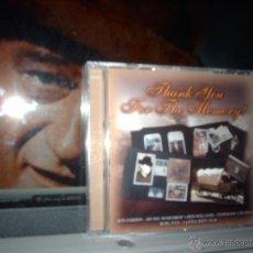 CDs de Música: THANK YOU FOR THE MEMORY CD ORIGINAL MADE IN EU PRECINTADO..DON FARDON..FARON YOUNG... Lote 40210719