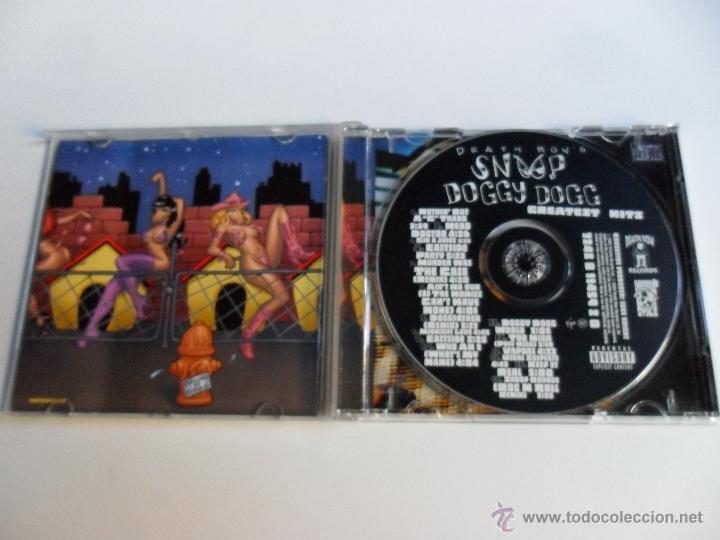 CDs de Música: DEATH ROW´S SNOOP DOGGY DOGG . GREATEST HITS - Foto 3 - 40227253