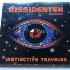 CDs de Música: DISSIDENTEN FEAT. BAJKA . INSTINCTIVE TRAVELER. Lote 40231352