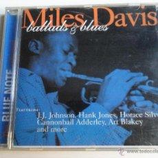CDs de Música: MILES DAVIS . BALLADS & BLUES (BLUE NOTE). Lote 40233846
