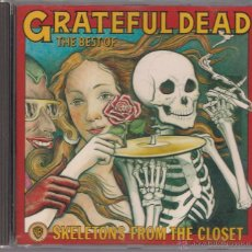 CDs de Música: GRATEFUL DEAD - THE BEST OF. SKELETONS FROM THE CLOSET. CD WARNER BROS. RECORDS 1988.. Lote 40234676