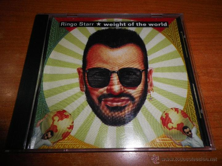 RINGO STARR WEIGHT OF THE WORLD CD SINGLE PROMOCIONAL USA DEL AÑO 1992 THE BEATLES 1 TEMA (Música - CD's Pop)